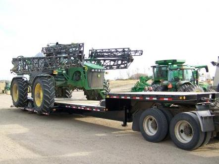 New HC320LL Fifth Wheel Drop Deck Sprayer Trailer