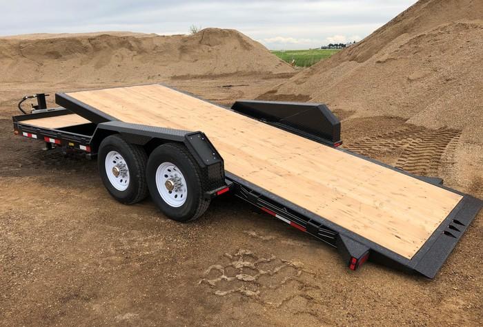 Utility Flatdeck Dump Ag Equip Trailers | Trailtech Trailers