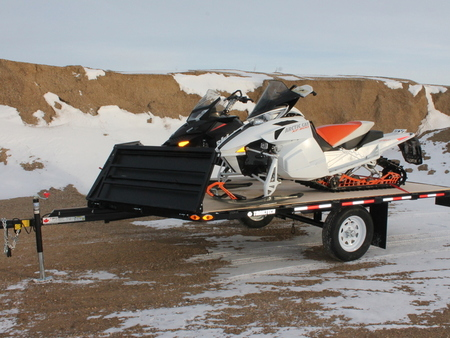 New BD2-12' Boondocker Series Sled/ATV Trailer